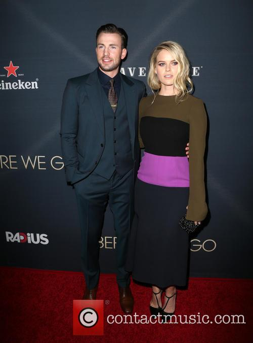 Chris Evans and Alice Eve 10