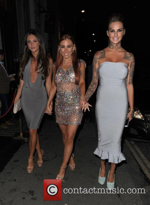 Megan Mckenna, Amy Cooke and Jemma Henley 2