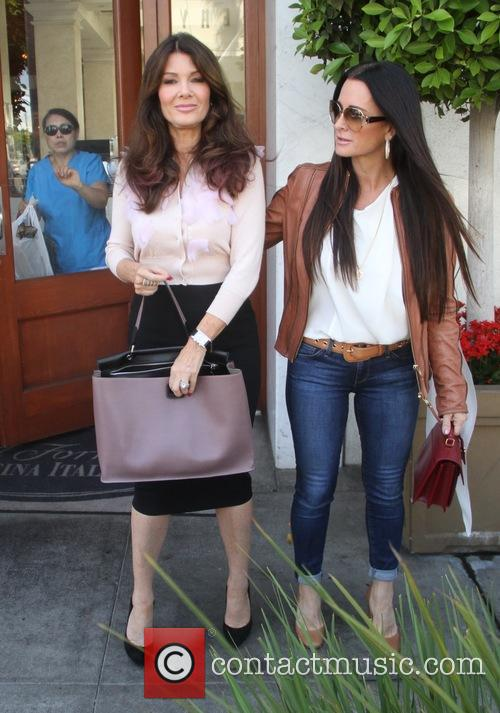 Lisa Vanderpump and Kyle Richards 3