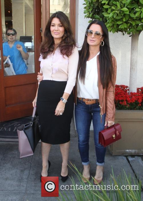 Lisa Vanderpump and Kyle Richards 4