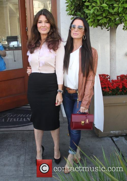 Lisa Vanderpump and Kyle Richards 1