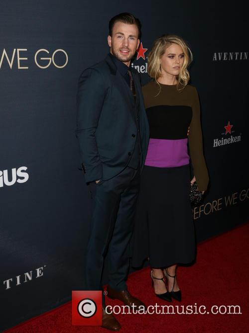 Chris Evans and Alice Eve 4