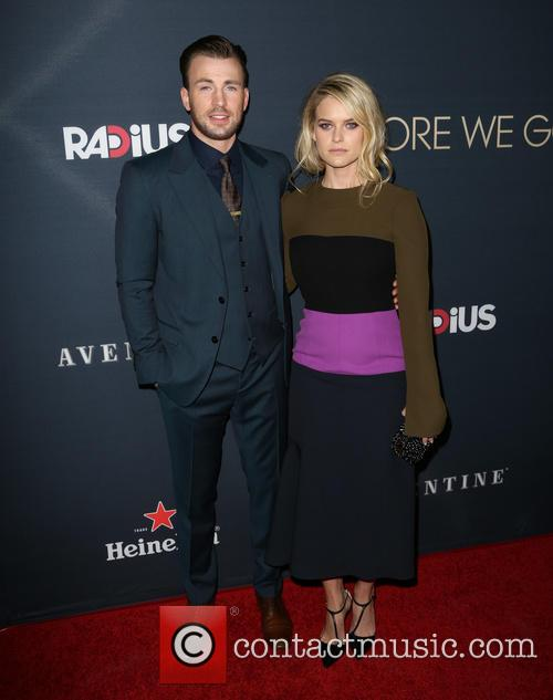 Chris Evans and Alice Eve 8