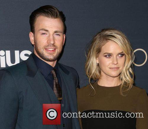 Chris Evans and Alice Eve 11