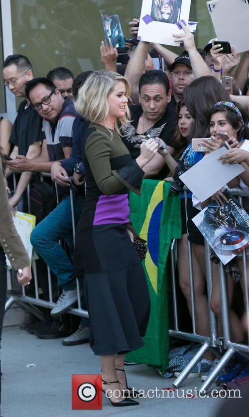 Alice Eve and Fans 2