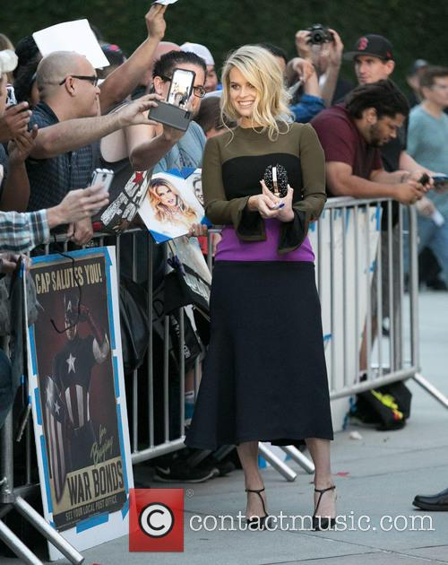 Alice Eve and Fans 5