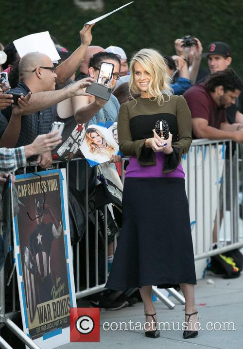 Alice Eve and Fans 6