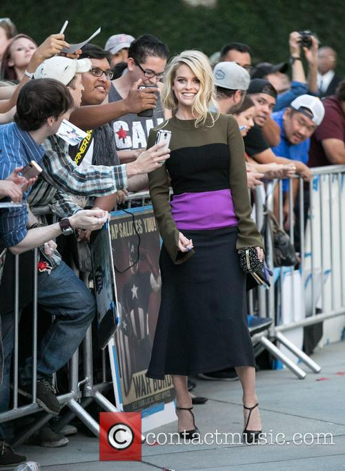 Alice Eve and Fans 7