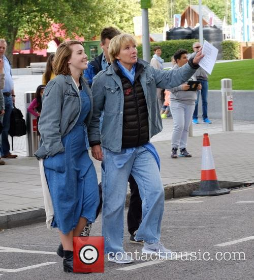 Emma Thompson and Daughter 1