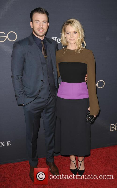 Chris Evans and Alice Eve 3