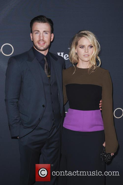 Chris Evans and Alice Eve 5