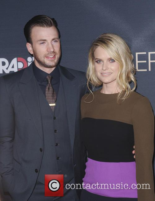 Chris Evans and Alice Eve 1
