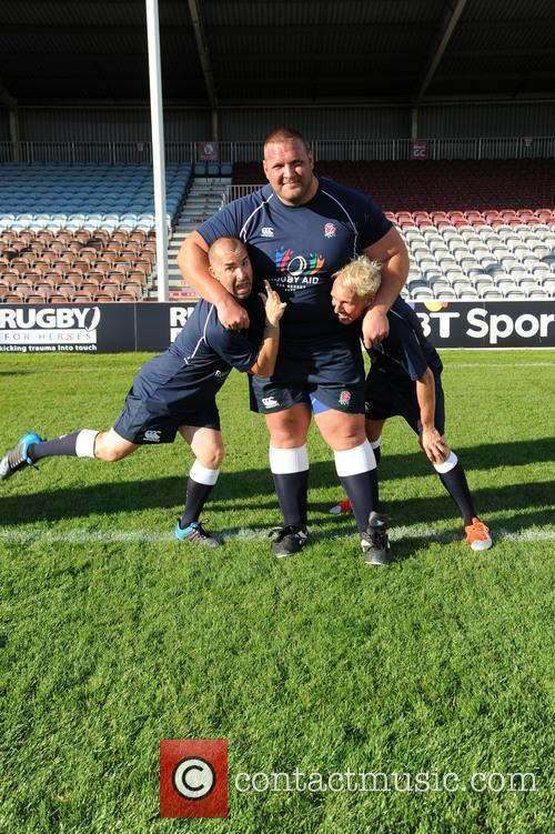 Louie Spence, Terry Hollands and Jamie Laing 2