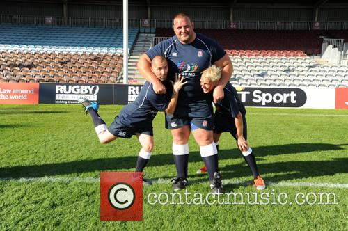 Louie Spence, Terry Hollands and Jamie Laing 5