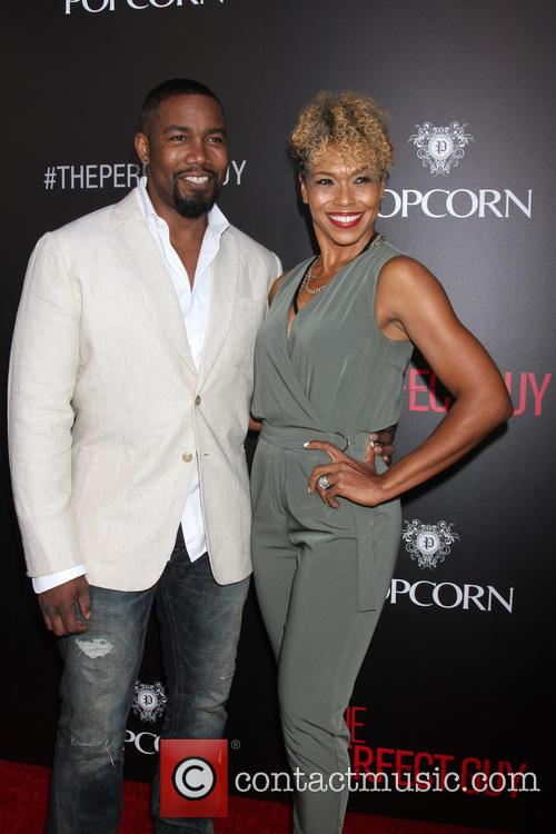 Michael Jai White and Corie White 3