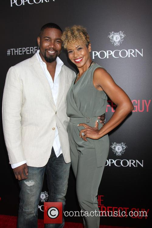 Michael Jai White and Corie White 1