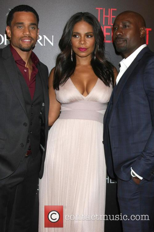 Michael Ealy, Sanaa Lathan and Morris Chestnut 4