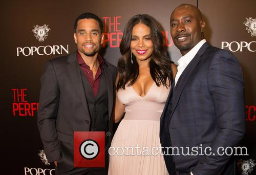Michael Ealy, Sanaa Lathan and Morris Chestnut 2