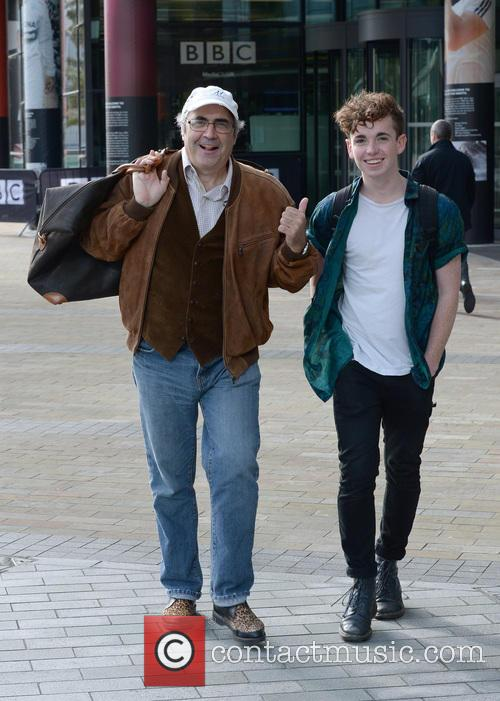 Danny Baker and Laurie Kynaston 2