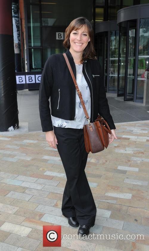 Celebrities at BBC Breakfast Studios