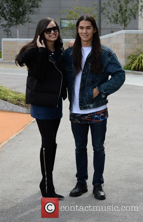 Sofia Carson and Boo Boo Stewart 11
