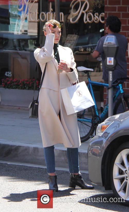 Jaime King out and about in Beverly Hills