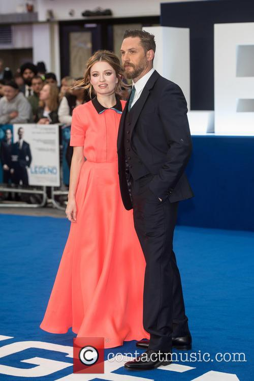 Tom Hardy and Emily Browning 3