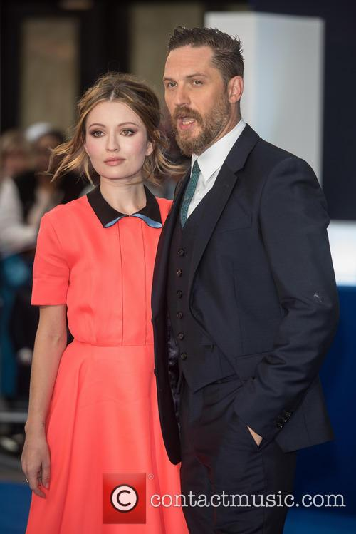 Tom Hardy and Emily Browning 1