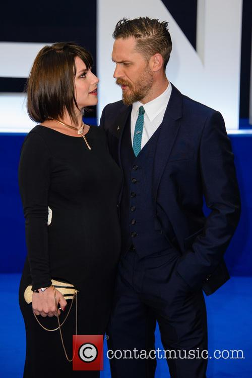 Charlotte Riley and Tom Hardy 5