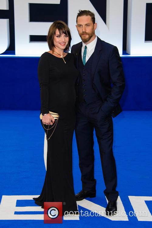 Charlotte Riley and Tom Hardy 8