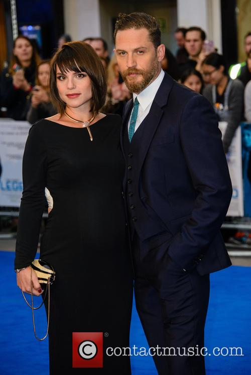 Charlotte Riley and Tom Hardy 11