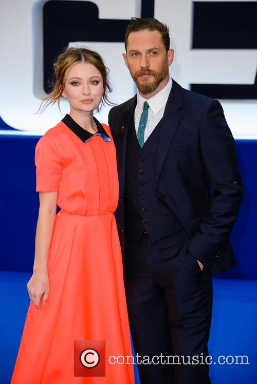 Emily Browning and Tom Hardy 7