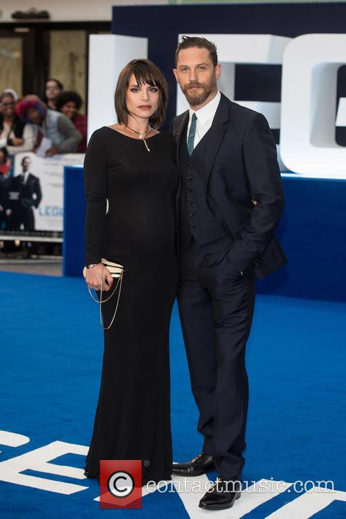 Charlotte Riley and Tom Hardy 6