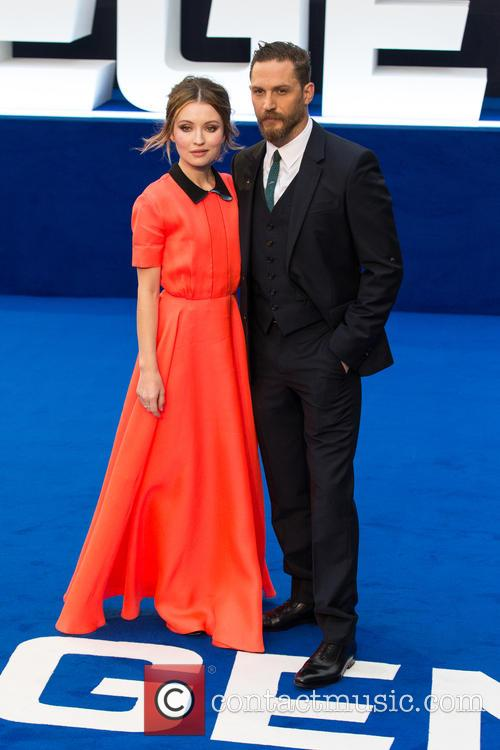 Emily Browning and Tom Hardy 2