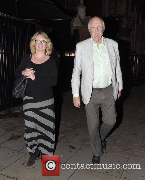 Sir Tim Rice and Jane Mcintosh 2