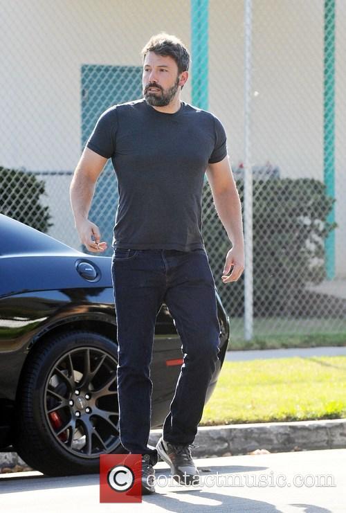Ben Affleck and Jennifer Garner arrive at a...