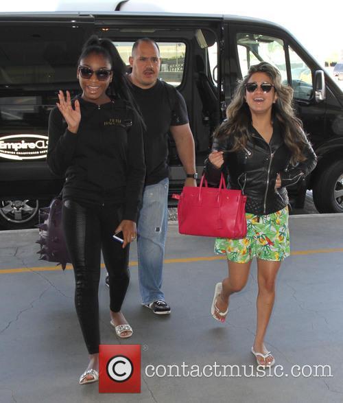 Fifth Harmony, Ally Brooke and Normani Hamilton 2