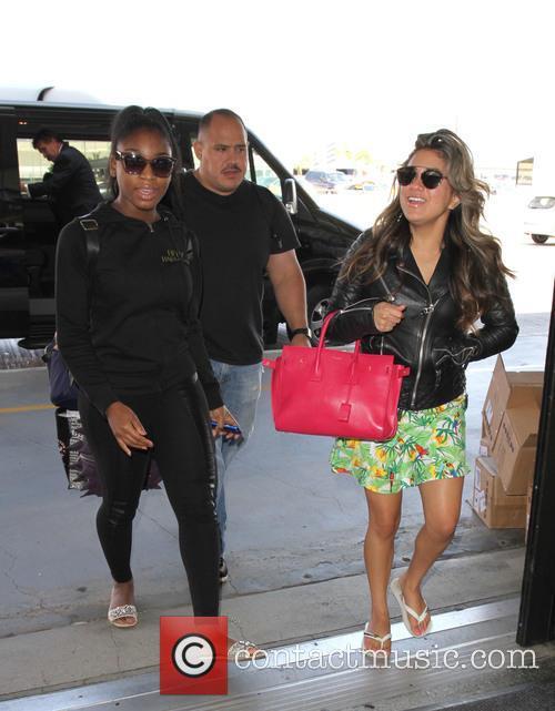 Fifth Harmony, Ally Brooke and Normani Hamilton 4