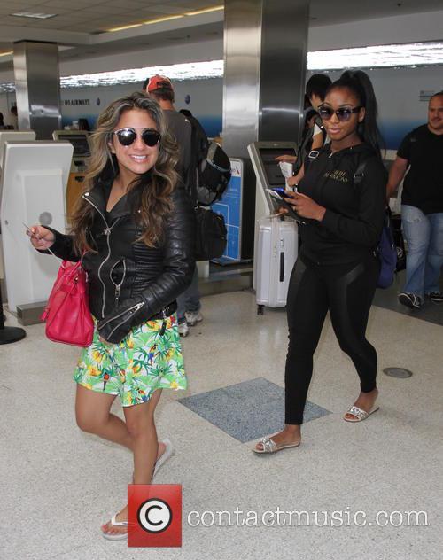 Fifth Harmony, Ally Brooke and Normani Hamilton 5