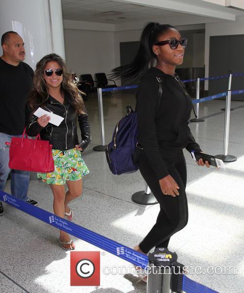 Fifth Harmony, Ally Brooke and Normani Hamilton 8