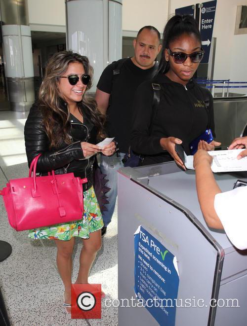 Fifth Harmony, Ally Brooke and Normani Hamilton 10