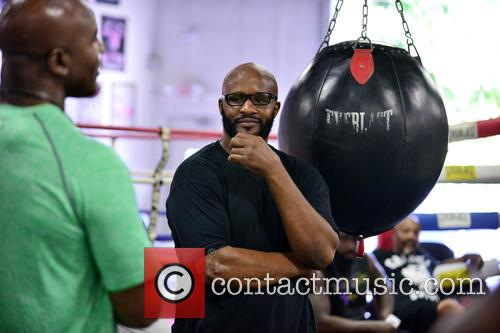 Evander Holyfield and Michael Moorer 2
