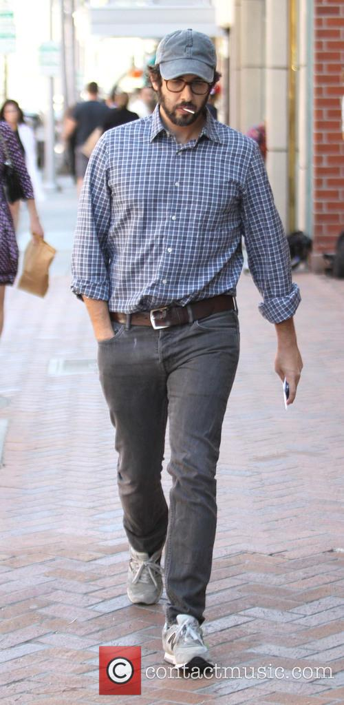 Josh Groban out in Beverly Hills