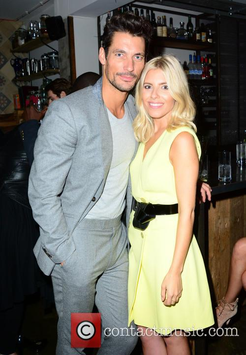 David Gandy and Mollie King 2