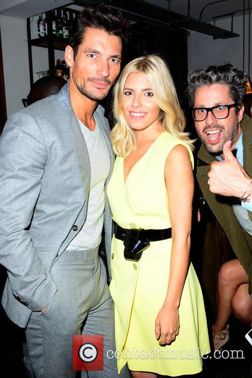 David Gandy and Mollie King 3