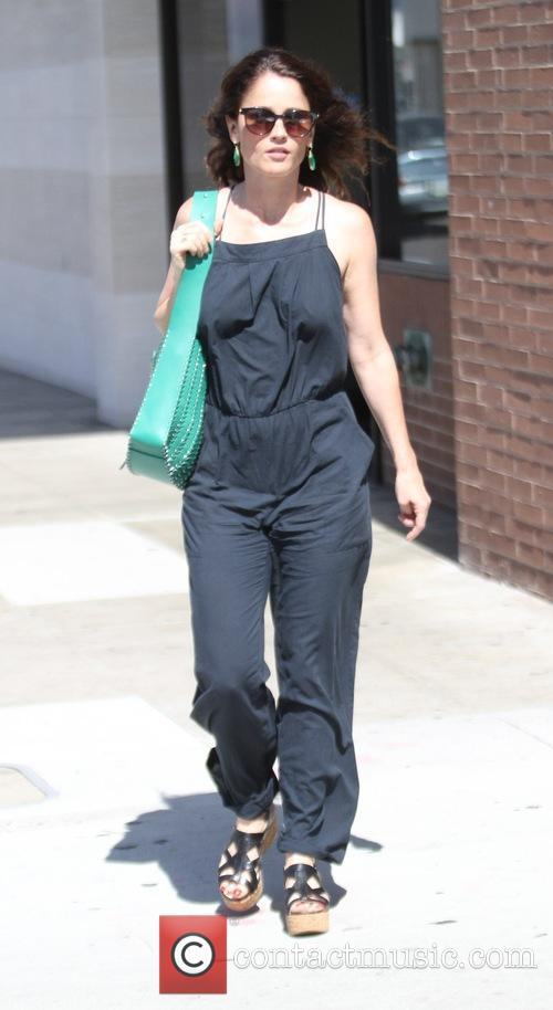 Robin Tunney out in Beverly Hills