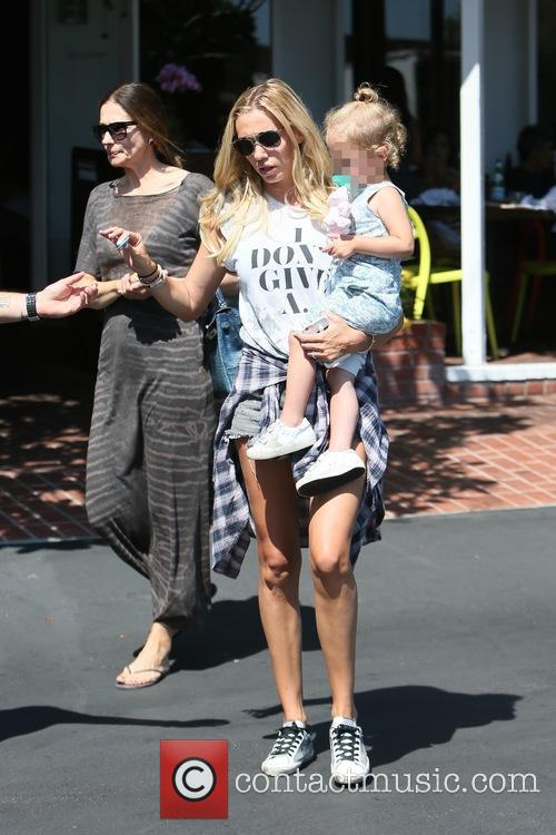 Tamara and Petra Ecclestone have lunch together at...