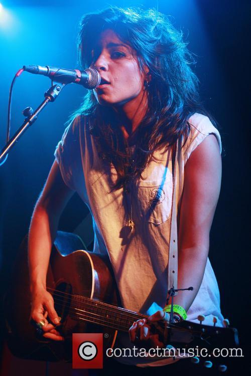 Tatiana DeMaria performing live at the Barfly