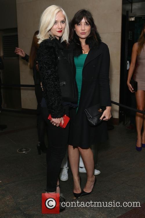 Portia Freeman and Daisy Lowe 1