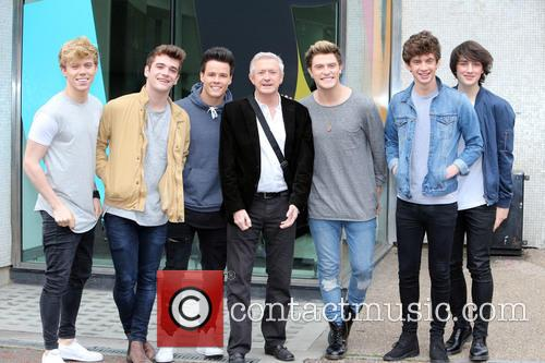 Louis Walsh and Home Town 7